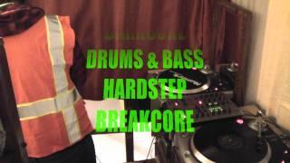 DJ DEEPCORE - PRACTICANDO EN VIVO (SET EN TORNAMESAS)