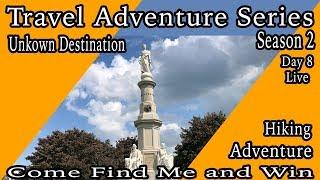 Live Travel Adventure Series Season 2 Day 8 Gettysburg day 3