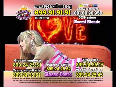 Noemi Blonde:diretta Su Sky Caliente Tv video