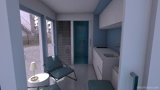 Container House 20ft (minicasa container 7)