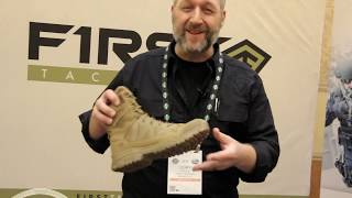 First Tactical ShotShow 2019 Operator Boots and Courier Bag