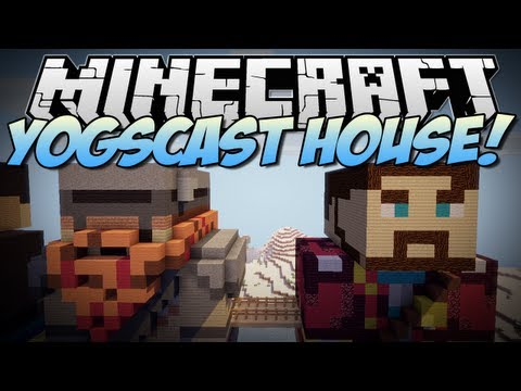 Minecraft | YOGSCAST (Lewis & Simon) HOUSE! | Build Showcase