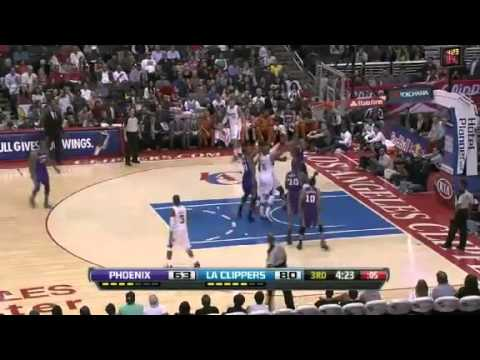 NBA Phoenix Suns Vs LA Clippers Highlights April 3, 2013 Game Recap