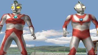Ultraman Jack & Ace - TAG Battle Mode ★Play ウルトラマン FE3