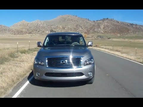 2014 QX80 vs Range Rover Sport vs Highlander vs Durango Mega Mashup Review (Part 1)