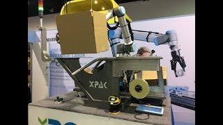 2019 WestPack XPak Robox collaborative robot case erector