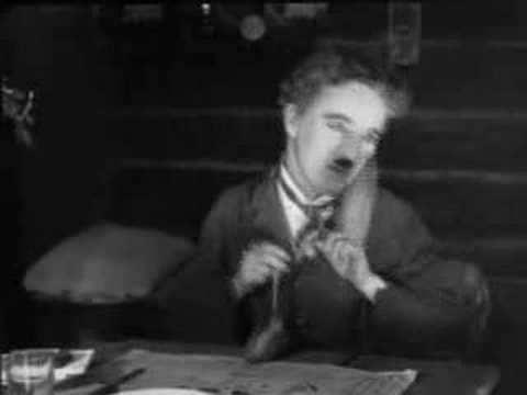 Charlie Chaplin- Table Ballet