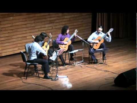 Porro, Gentil Montaña - Cuarteto de Guitarras Silvio Martínez