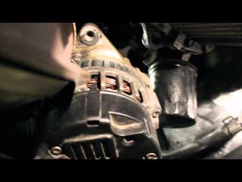 How to Change Alternator Hyundai Elantra 01-06