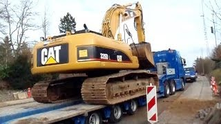 Volvo FH16 660 I-Shift 6x4 Driving With A Cat 325D