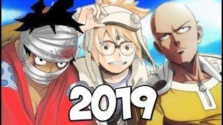 Major 2019 Anime & Manga Announcements!