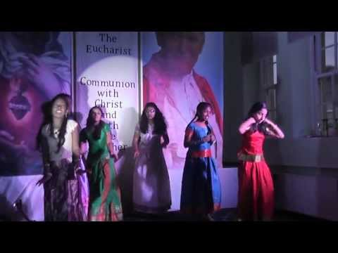Malayalam Christian Devotional Dance Ente Aduthu Nilkuvan Yesuvunde Song By Derry Sunday School video