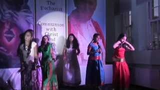 Malayalam Christian Devotional Dance ENTE ADUTHU NILKUVAN YESUVUNDE Song by Derry Sunday School