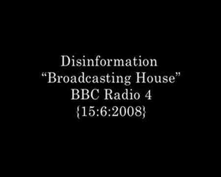 Disinformation on BBC Radio 4 - Radio Noise and Electromagnetism