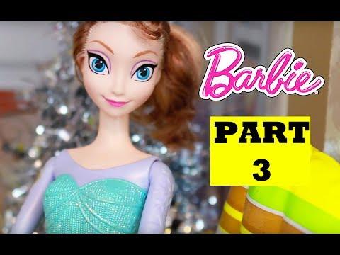 Disney Frozen Elsa EVIL TWIN PART 3 Play-Doh Princess Anna Melsa Barbie Parody LPS Frozen Glam