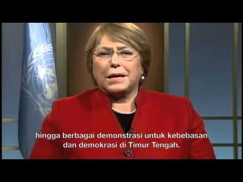 International Women's Day 2012 - Message of UN Women (Subtitled in Bahasa Indonesia)