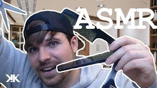 ASMR 🎧️ HAIRCUT ROLEPLAY  ✄ (Hair Wash,Scissor, Massage, Hand sounds and more) | German/Deutsch