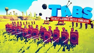 Most Powerful Multiplayer Battle Formation in Totally Accurate Battle Simulator (TABS)