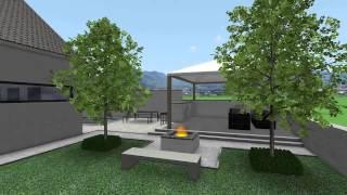 DATAflor GRÜNSTUDIO 3D®: Beispiel Visualisierung 2