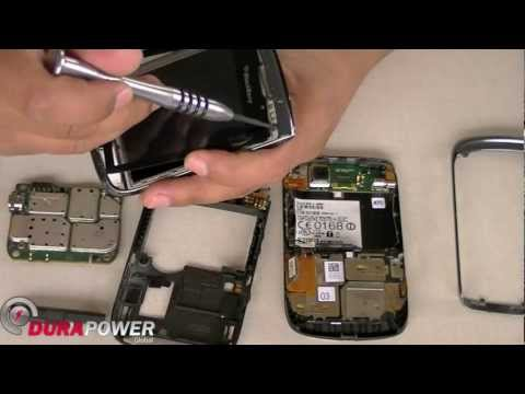 Blackberry Torch 9800 Take Apart Disassembly by DurapowerGlobal.com