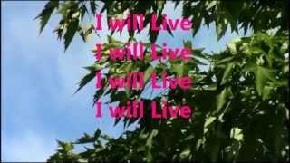 I Will Live Pastor Charles Jenkins w/lyrics