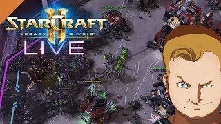 StarCraft 2 - LIVE - 1vs1 - Nydus Worm and Burrow Roaches  - Let's Play [HD]