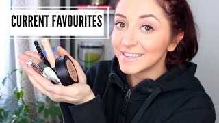 CURRENT BEAUTY FAVOURITES! + Quiting YouTube ?