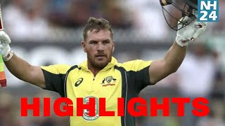 India vs Australia 3rd ODI Highlights - Aaron Finch 124 runs || Australia all out on 293/6