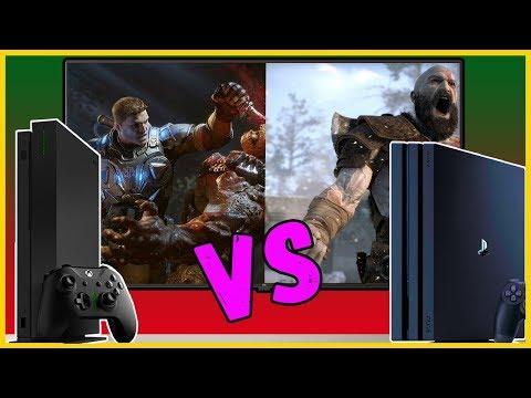 Какую платформу выбрать в 2019? Xbox One или PS4?
