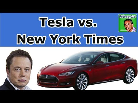 Tesla vs. The New York Times