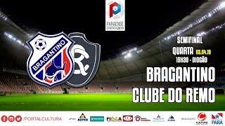 Bragantino x Clube do Remo - #CulturaNoBanparazão - 03.04.2019