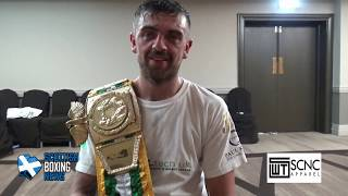 PAUL KEAN WINS THE BUI CELTIC SUPER-WELTERWEIGHT TITLE