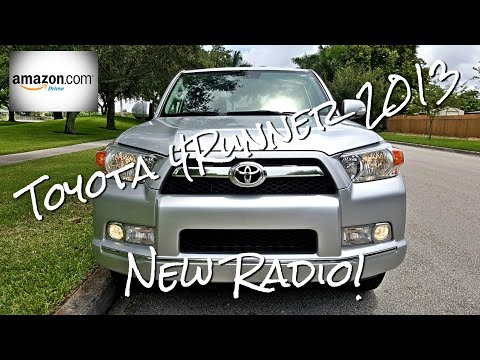 Toyota 4Runner 2010-2013 SR5 - Aftermarket Radio - [Installation & Review] - GPS - Bluetooth - Touch