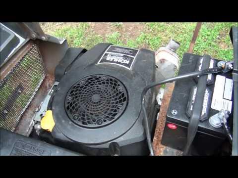 RIDING LAWNMOWER WON'T START .. Is it the SOLENOID or Starter Motor? HOW TO TEST