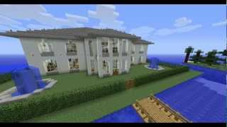 Minecraft Houses on Minecraft Modern House  Mansion  Download
