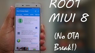 How To Root MIUI 8 (No OTA Break)