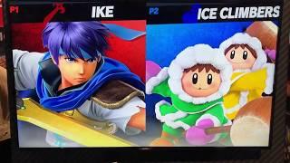 Ike vs Ice Climbers - Armageddon Expo 2018 Super Smash Bros Ultimate Demo