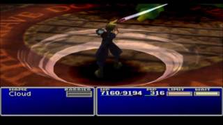 Final Fantasy VII Playthrough Part 65 Getting Omnislash & W-Summon