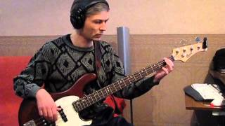 Hooverphonic - One (Bass cover)