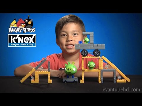 ANGRY BIRDS K'NEX 6 Building Sets: Mission May'Ham & Hammin' Around [EvanTubeHD CLASSIC WEEK]