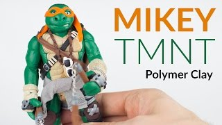 Mikey (TMNT) - Polymer Clay Tutorial