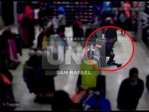 Video: así robaron en el local Sporting