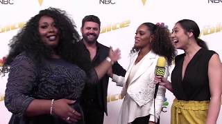 Download Lagu TEAM BLAKE Talk Their Influences and Song Choice | The Voice Top 12 Live Shows Red Carpet Gratis STAFABAND