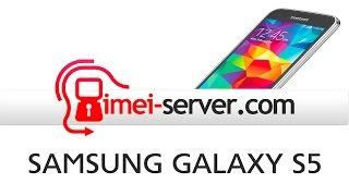 Unlock Samsung Galaxy S5 SM-G900a by IMEI - REMOVE SIM LOCK
