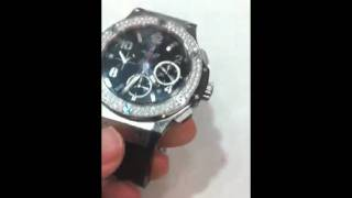 Diamond Hublot watch for sale by MIKE NEKTA NYC
