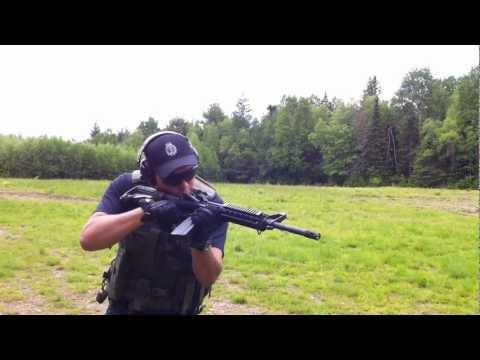 Norinco M4 CQA-556 immediate action