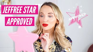 TESTING JEFFREE STAR APPROVED MAKEUP PRODUCTS