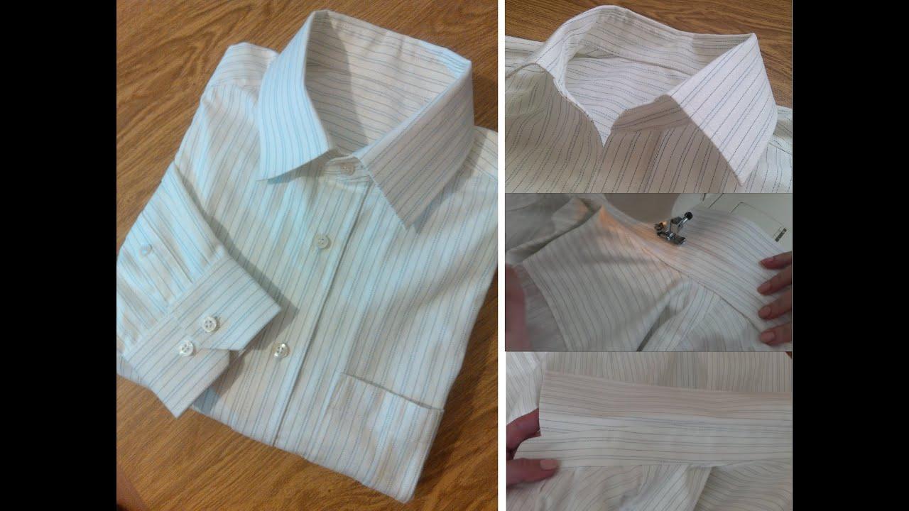 Сшить рубашку с плеч 903