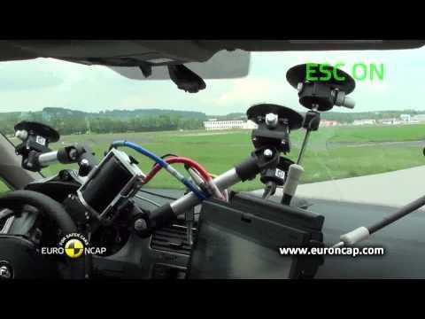 Euro NCAP | VW Golf | 2012 | Электронный контроль устойчивости