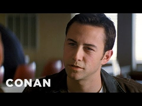 Joseph Gordon-Levitt On Playing A Young Bruce Willis - CONAN on TBS